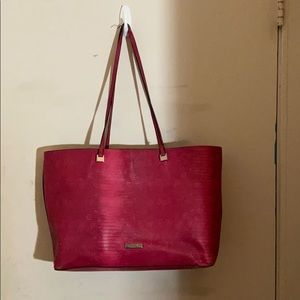 Well loved Christian Siriano New York tote pink
